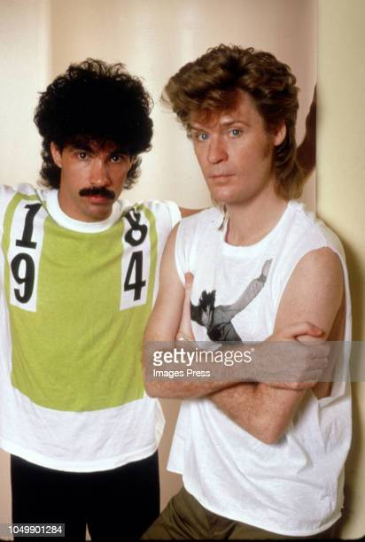 Hall and Oates circa 1982 in New York City Photo by Images/Getty Images