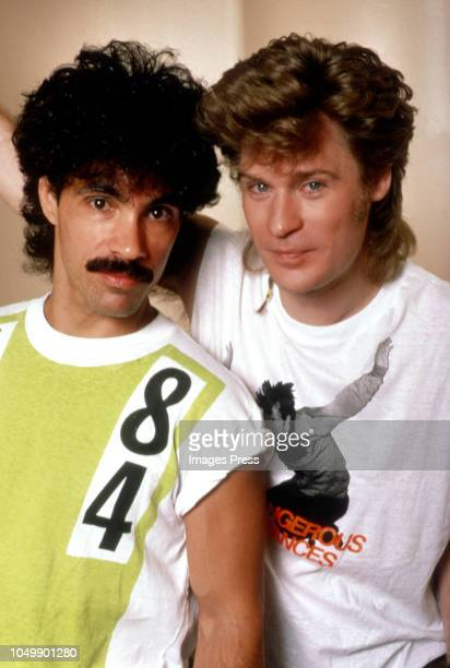 Hall and Oates circa 1982 in New York City