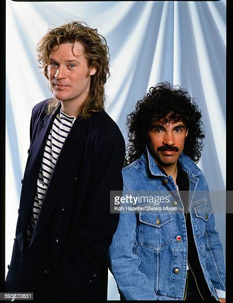 Hall And Oates in studio photo session Tokyo June 1988