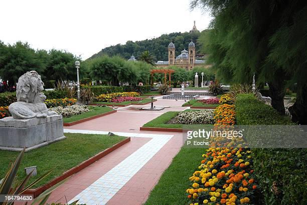 Hall and Park of San Sebastian