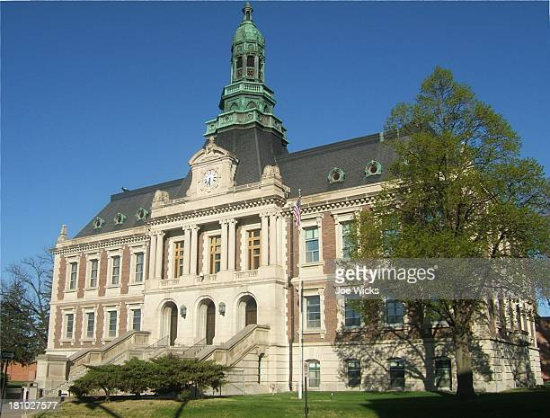 hall county courthouse - nebraska stock pictures, royalty-free photos & images