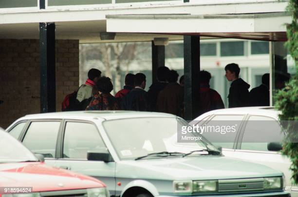 Hall Garth Comprehensive School Middlesbrough Monday 28th March 1994 A masked man carrying a shotgun and knives burst into a classroom ordered the...