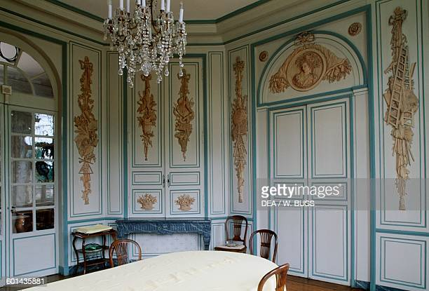 Hall in Chateau de Pierre Levee OlonneSurMer Vendee Pays de la Loire France 18th century