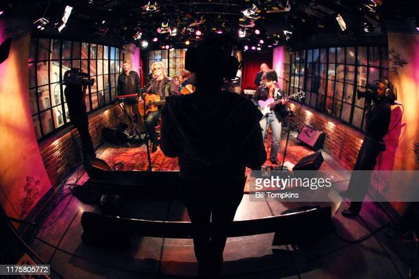 Hall Oates appear on the TV show PRIVATE SESSIONS on October 13 2009 in New York City