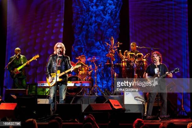 Hall Oates perform at the Ryman Auditorium on June 2 2013 in Nashville Tennessee