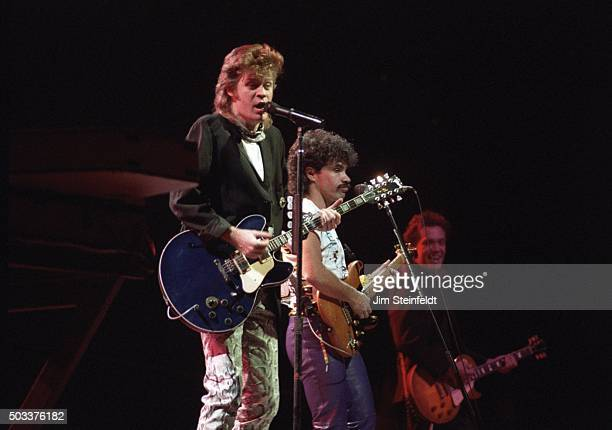 Hall Oates perform at the St Paul Civic Center in St Paul Minnesota on August 19 1984