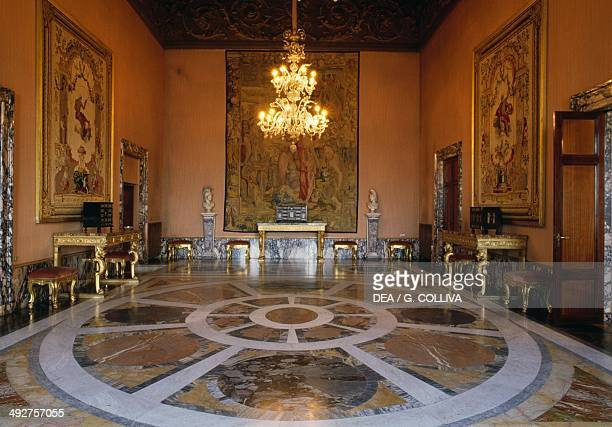 Hall of Caskets Quirinal Palace Rome Lazio Italy