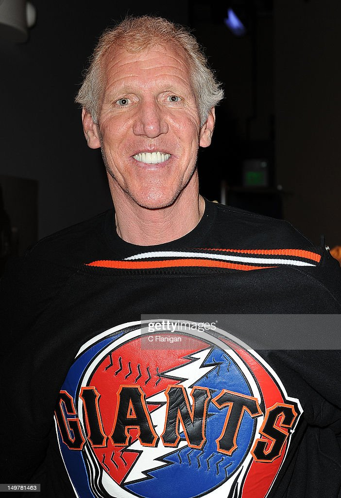 Hall of Fame Basketball Player Bill Walton attends the 'Move Me Brightly' 70th Birthday Tribute for Jerry Garcia at TRI Studios on August 3, 2012 in San Rafael, California.