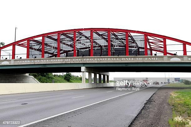 Hall of Fame Bridge on June 20, 2015 in Canton, Ohio.