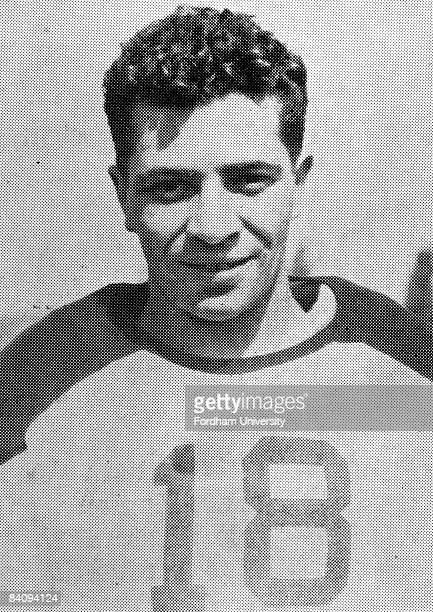 Hall of Fame coach Vince Lombardi in his college playjng days circa 1933 Lombardi was an undersized guard on Fordham University's imposing front line...