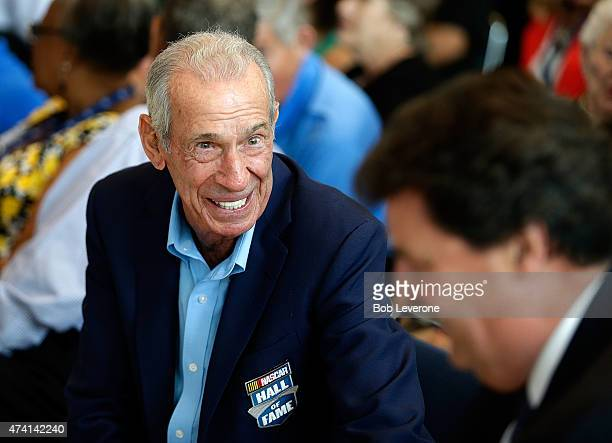 Hall of Fame driver Ned Jarrett during the NASCAR Hall of Fame Class of 2016 Announcement at the NASCAR Hall of Fame on May 20 2015 in Charlotte...