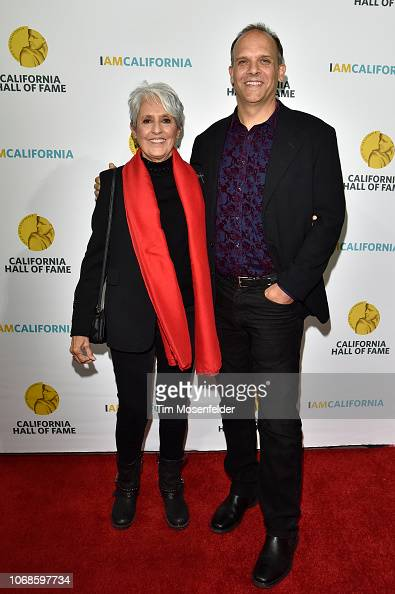 Hall Of Fame Inductee Joan Baez And Son Gabriel Harris Attend The News Photo Getty Images