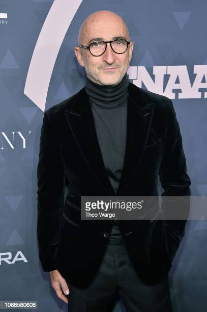 Hall of Fame Inductee Pierre Hardy attends the 2018 Footwear News Achievement Awards at IAC Headquarters on December 4 2018 in New York City