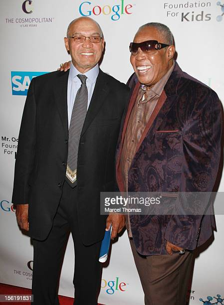 Hall of Fame legend Reggie Jackson and singer Sam Moore attend the 8th All Star Celebrity Classic benefiting the Mr October Foundation for Kids at...
