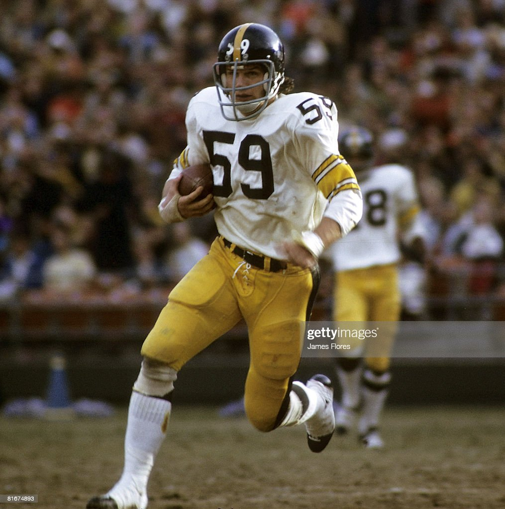 San Diego Chargers Hall Of Fame Players: Hall Of Fame Linebacker Jack Ham Of The Pittsburgh