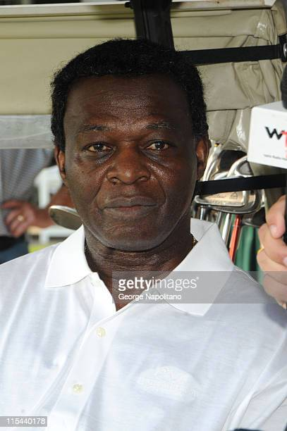 Hall of Fame mamber Lou Brock at the 2008 MLB Hall of Fame Weekend golf tournament at the Leatherstocking Golf Course at the Otesga Hotel on July 26...
