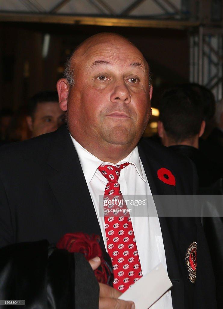 2012 Hockey Hall Of Fame Induction - Red Carpet : ニュース写真