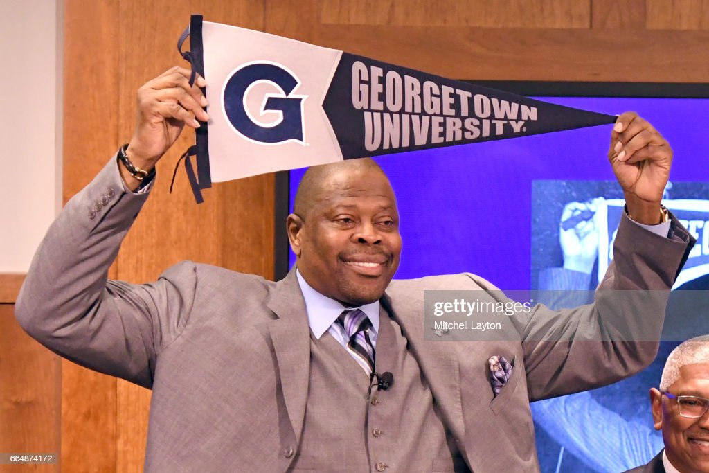 Georgetown Introduce Patrick Ewing