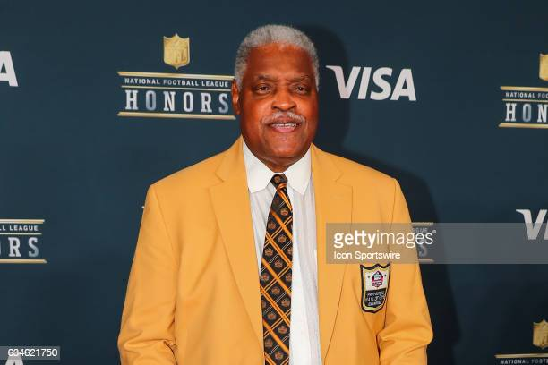 Hall of Famer Art Shell on the Red Carpet at the 2017 NFL Honors on February 04 at the Wortham Theater Center in Houston Texas