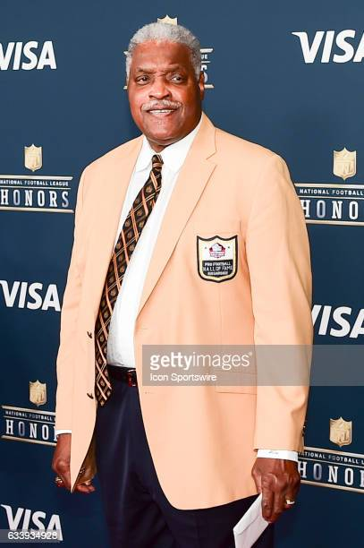 Hall of Famer Art Shell on the Red Carpet during the NFL Honors Red Carpet on February 4 2017 at the Worthan Theater Center Houston Texas