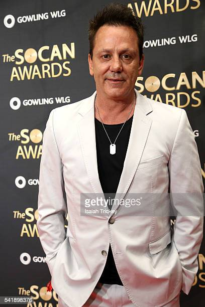 Hall of Famer Doug Gilmour arrives at The 27th Annual SOCAN Awards Gala at the Sheraton Centre Hotel on June 20 2016 in Toronto Canada
