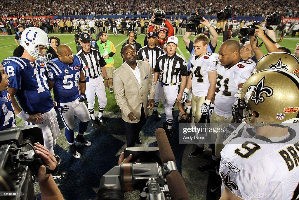 Super Bowl XLIV : ニュース写真