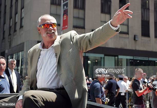 Hall of Famer Rich 'Goose' Gossage during the MLB AllStar Game Red Carpet Parade on July 15 2008 in New York City