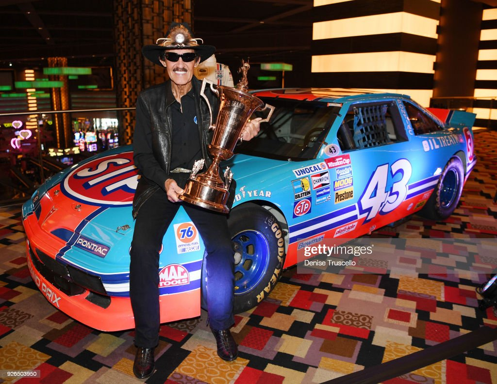 """NASCAR Hall Of Famer Richard """"The King"""" Petty Announces Upcoming Julien's Auction Of Property From His Personal Collection At Planet Hollywood"""