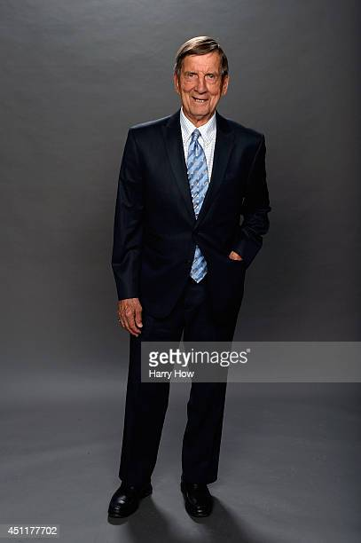 Hall of Famer Ted Lindsay poses for a portrait during the 2014 NHL Awards at Encore Las Vegas on June 24 2014 in Las Vegas Nevada