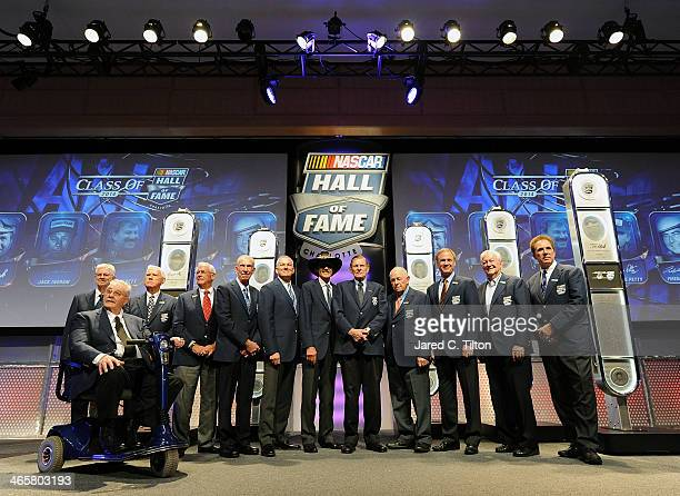 NASCAR Hall of Famers Leonard Wood Maurice Petty Junior Johnson Dale Inman Ned Jarrett Dale Jarrett Richard Petty Bud Moore Jack Ingram Rusty Wallace...