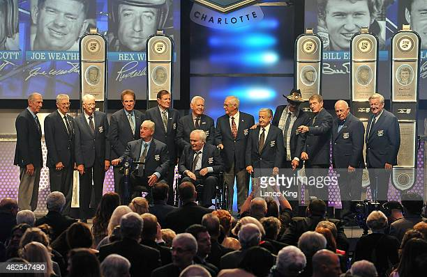 NASCAR Hall of Famers Ned Jarrett Leonard Wood Glenn Wood Darrell Waltrip Bud Moore Junior Johnson Dale Inman Rex White Richard Petty Bill Elliott...