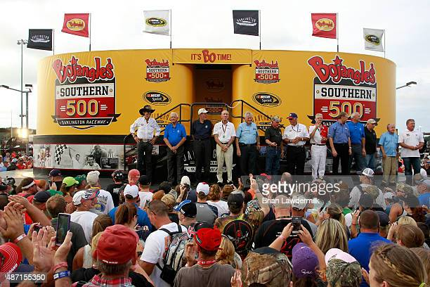 Hall of Famers Richard Petty Junior Johnson Bud Moore Ned Jarrett Bobby Allison Cale Yarborough Dale Inman Leonard Wood Rusty Wallace Dale Jarrett...