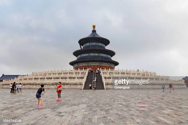 hall of prayer for good harvests in beijing - gwengoat foto e immagini stock