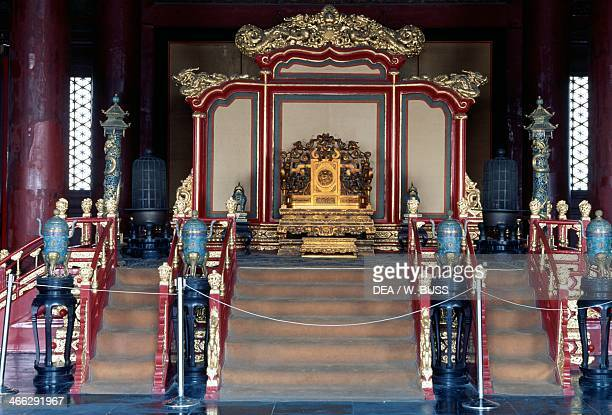 Hall of Supreme Harmony Imperial Palace Forbidden City Peking China 15th century