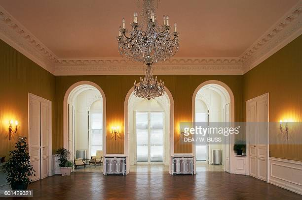 Hall of the Chateau de SainteAssise SeinePort IledeFrance France 18th century