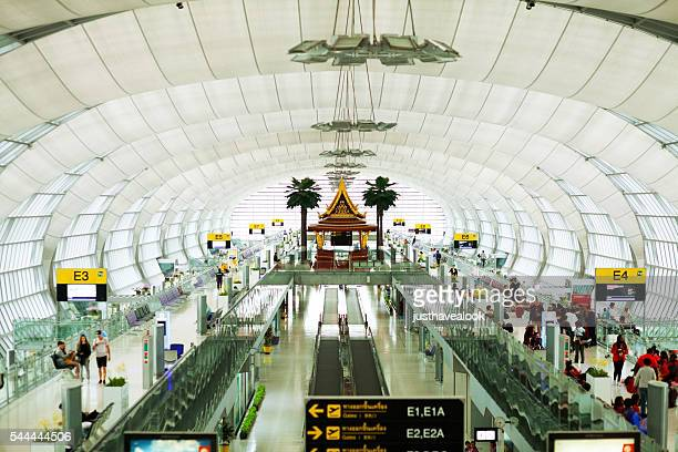 Hall with gates E in airport Survanabhumi