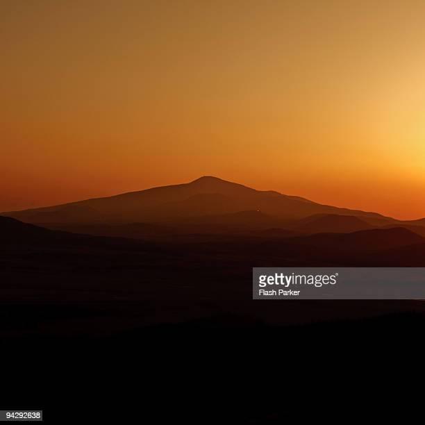 Halla Mountain from Daeroksan Oreum