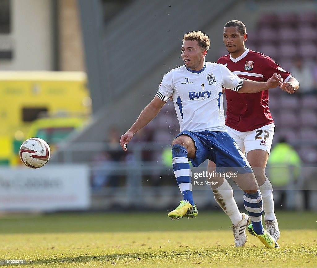 Northampton Town v Bury - Sky Bet League Two : News Photo