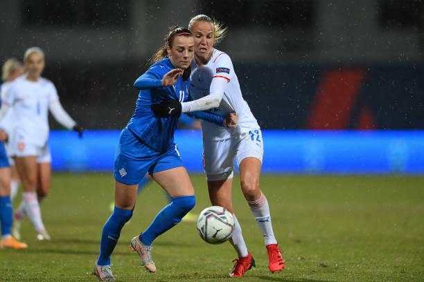 ISL: Iceland v Czech Republic: Group C - FIFA Women's World Cup 2023 Qualifier