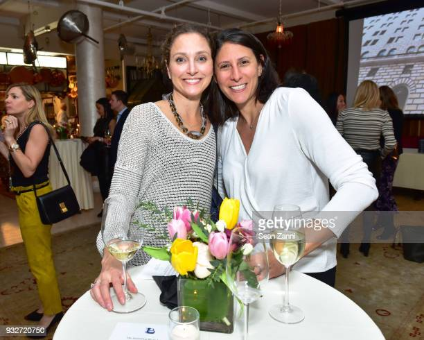 Halle Altman and Tanya Hackel attend 'The Initiation' Book Launch at Bouley TK on March 15 2018 in New York City