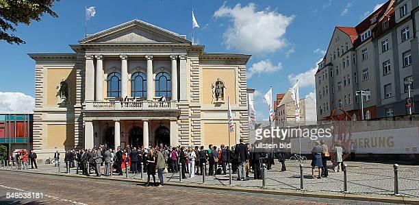 Halle an der Saale Festakt 10 Jahre Kulturstiftung des Bundes im Opernhaus Halle