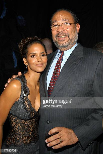 Halle Berry and Dick Parsons, Chairman and CEO of Time Warner