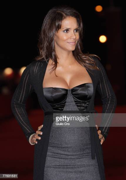 Halle Berry and Director Suzanne Bier attends the premiere for 'Things We Lost In The Fire' on day 9 of the 2nd Rome Film Festival on October 26,...