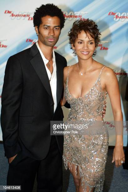 Halle Berry and Eric Benet during Special Screening of MGM's 'Die Another Day' at The Shrine Auditorium in Hollywood CA United States