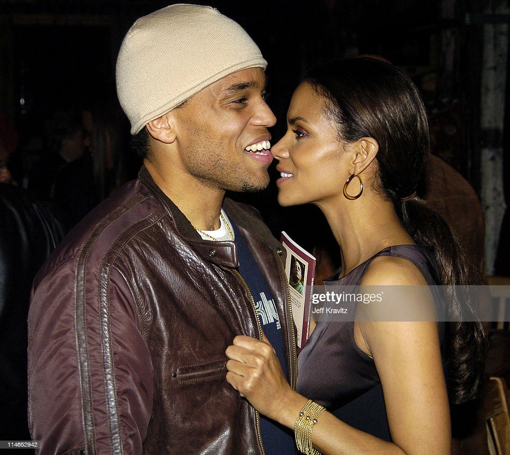 Halle Berry and Michael Ealy during HBO Films Lackawanna
