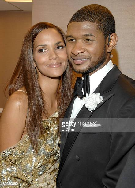 Halle Berry and Usher