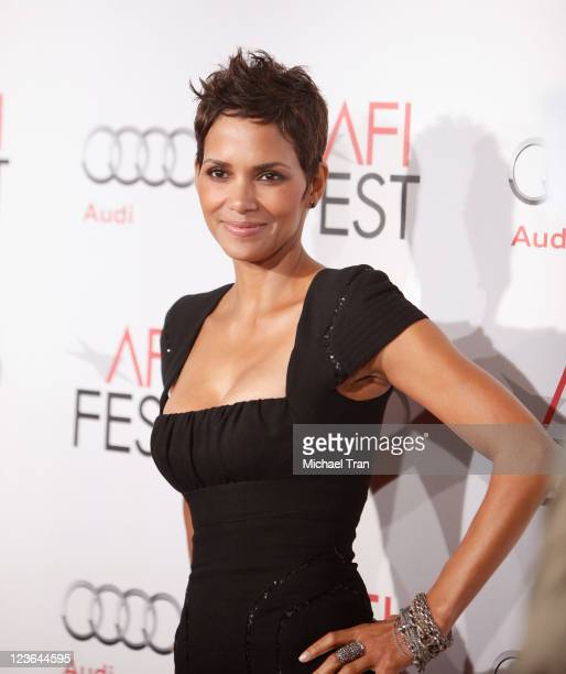 Halle Berry arrives at the 2010 AFI Fest - conversations with Halle Berry held at Grauman's Chinese Theatre on November 9, 2010 in Hollywood,...