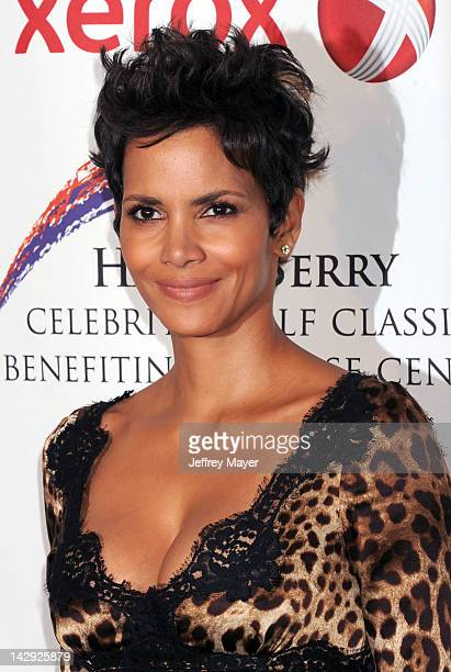 Halle Berry arrives at the 2012 Jenesse Silver Rose Awards Gala and Auction at Beverly Hills Hotel on April 14 2012 in Beverly Hills California