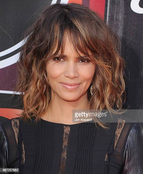 Halle Berry arrives at The 2015 ESPYS at Microsoft Theater on July 15 2015 in Los Angeles California