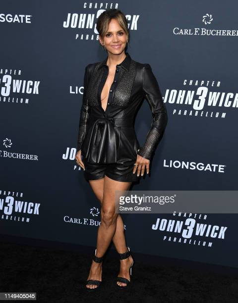 "Halle Berry arrives at the Special Screening Of Lionsgate's ""John Wick: Chapter 3 - Parabellum"" at TCL Chinese Theatre on May 15, 2019 in Hollywood,..."